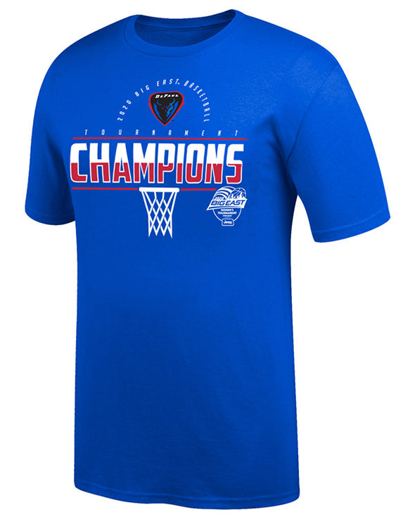 Big East Conference Women's Basketball 2020 Champs Win Short Sleeve T-Shirt