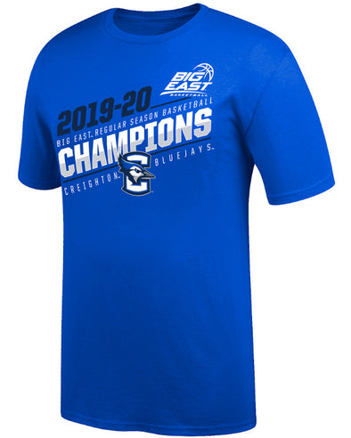 Big East Creighton 2020 Season Champions Short Sleeve T-Shirt