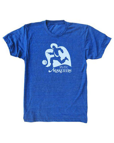 Big East Conference Xavier Running Man T-Shirt