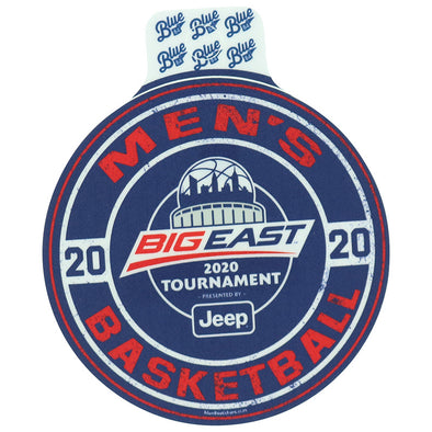 Big East Conference Men's Basketball Tournament Full Size Sticker