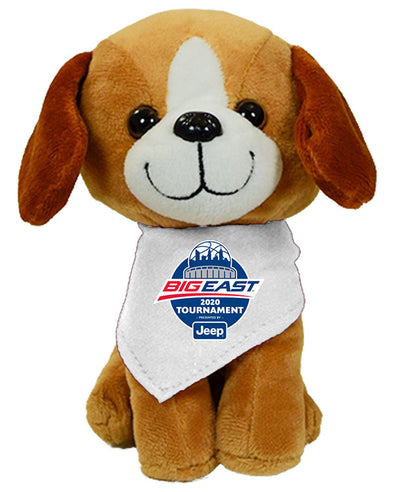 Big East Conference Men's Basketball Tournament Pupparazzi Hound Plush Toy