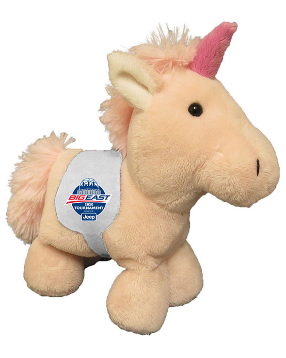 Big East Conference Short Stack Unicorn with Saddle Plush Toy