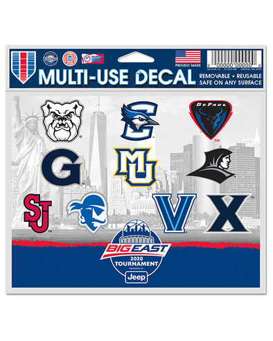Big East Conference 2020 Men's Basketball Tournament Decal
