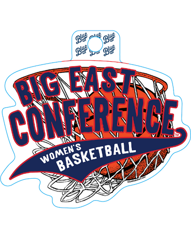Big East Conference Blue 84 2020 Women's Basketball Tournament Decal 2