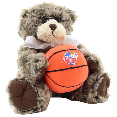 Big East Conference Women's Basketball Tournament Bear Charlie Jr with Basketball Plush Toy