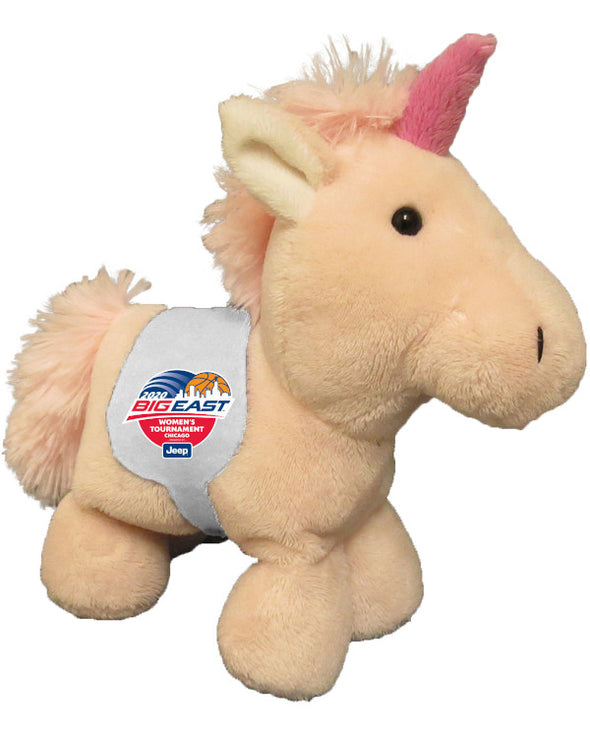 Big East Conference Women's Basketball Tournament Short Stack Unicorn with Saddle Plush Toy