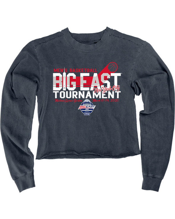 Big East Conference Wait Time Cropped Fleece Crew