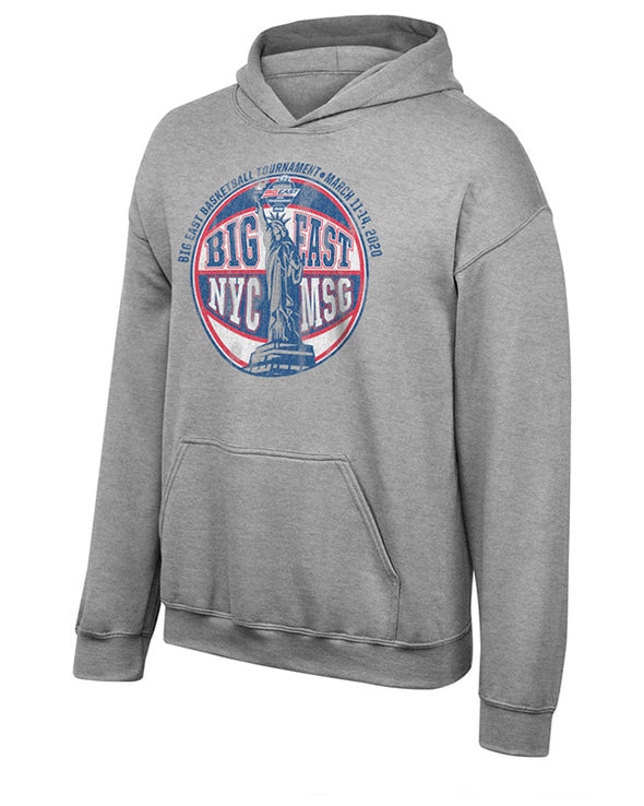 Big East Conference Men's Basketball Tournament Youth Statue Ball Fleece