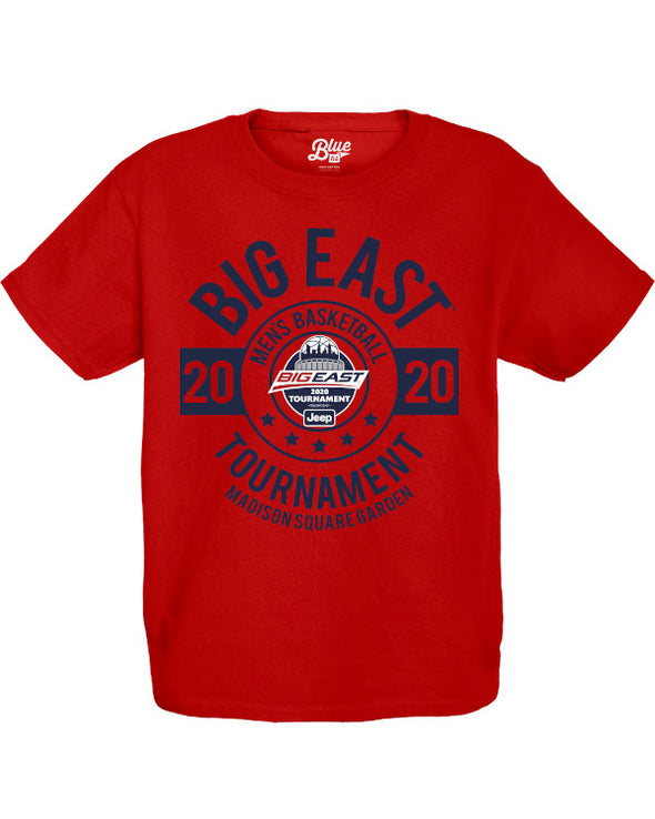 Big East Conference Youth Ripkin 2020 Men's Basketball Tournament T-Shirt