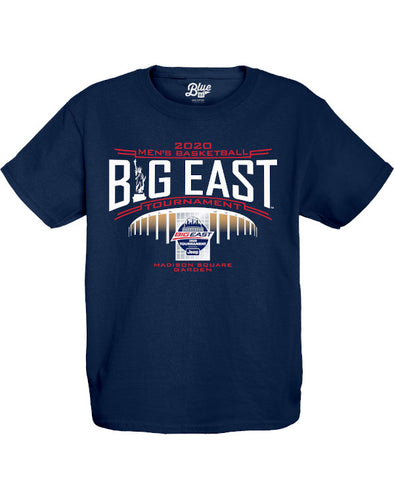 Big East Conference Youth Ossify Men's Basketball Tournament Statue T-Shirt