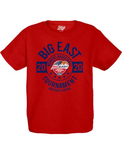 Big East Conference Blue 84 Youth Ripkin Women's Basketball Tournament 2020 T-Shirt