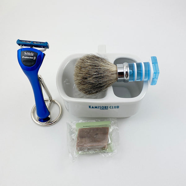 Classical shaving set that is inherited from the year 1903 to be amused.