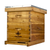 Hoover Hives Wax Coated 8 Frame Beehive With 1 Deep Bee Box & 1 Medium Bee Box