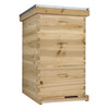 NuBee 10 Frame Beehive With 2 Deep Bee Boxes & 1 Medium Bee Box