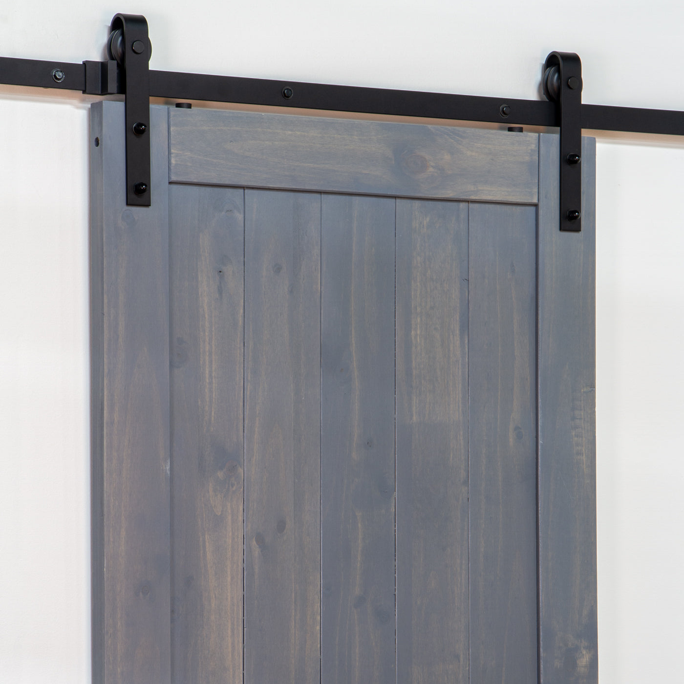 Barn Door Hardware Track Kit (Track & Roller Only)
