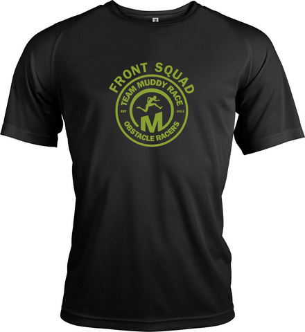 Muddy Race TriDri Front Squad Top