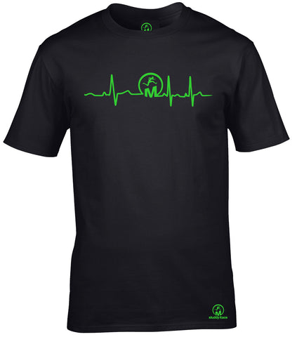 Muddy Race Heartbeat T Shirt
