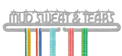 Mud Sweet and Tears Stainless Steel Medal Holder