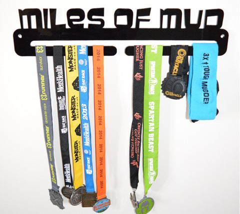 Miles Of Mud Medal Holder