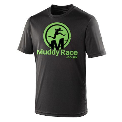 Muddy Race Tech Shirt Kids