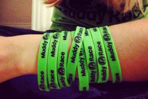 Muddy Race Wrist Bands