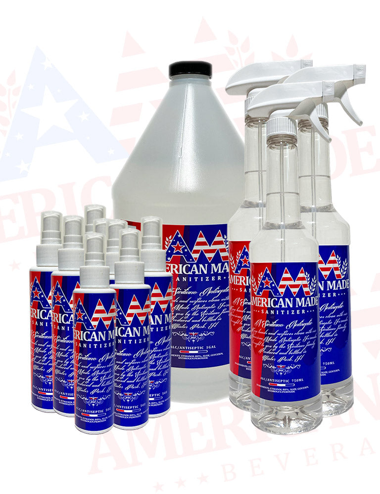 American Made Sanitizer Family Pack