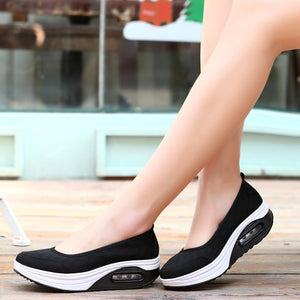 Summer Womens Sneakers platform New Fashion Flat Breathable Women Sport Shoes Style Mesh Women Casual Shoes Zapatos De Mujer