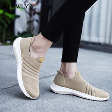 Load image into Gallery viewer, BRKWLYZ 2020 New Fashion Flats Women Shoes Breathable Summer Mesh Casual Shoes Woman Slip-on Flats Moccasins Ladies Ballet Shoes
