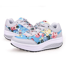 Load image into Gallery viewer, New 2020 Running Sneakers Women Fashion Print Wedge Platform Shoes Woman Casual Sport Mesh Breathable Shoes Zapatillas Mujer