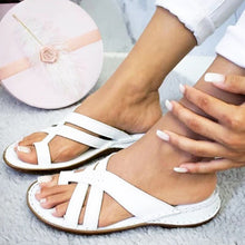 Load image into Gallery viewer, Women Shoes Retro Gladiator Sandals Summer Ladies Casual Clip Toe Slippers Outdoor Beach Female Wedges Slides Ladies Shoes 2020