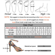 Load image into Gallery viewer, Womens Elegant Sandals 2020 Sexy Exquisite 35-44 Plus Ladies Increased Stiletto Super Peep Toe Sandals Ankle Strap Ladies Pumps