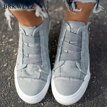 Load image into Gallery viewer, New Women Casual Shoes Woman Ladies Chaussure Femme Canvas Student Vintage Girls Sapato Feminino Zapatos Mujer Shoes Woman VIP