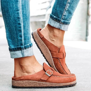 Flats Women Loafers Retro Shoes Slip On Ladies Comfort Platform Female Zapatos Mujer 2020 New Plus Size Casual Woman Summer