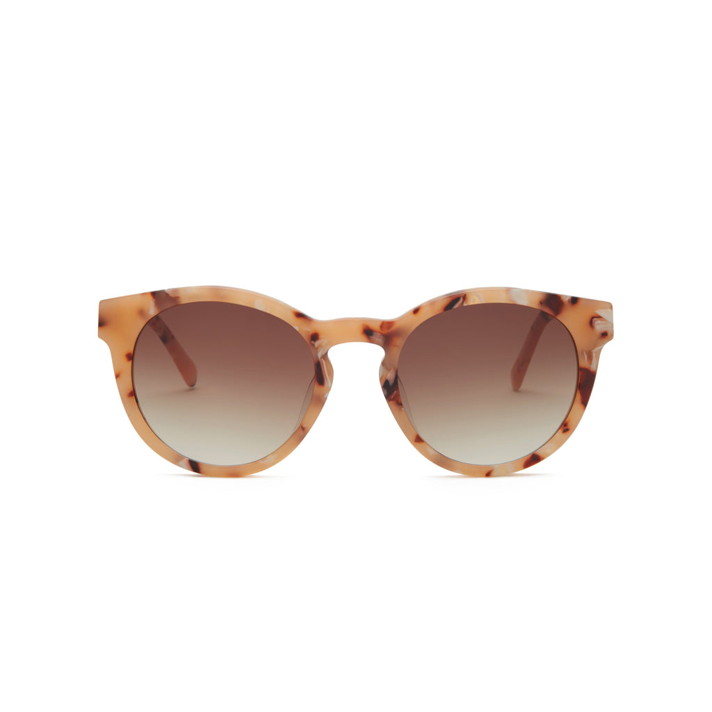 COVRY Lyra Coral Sunglasses Featured on WOMANBOSS