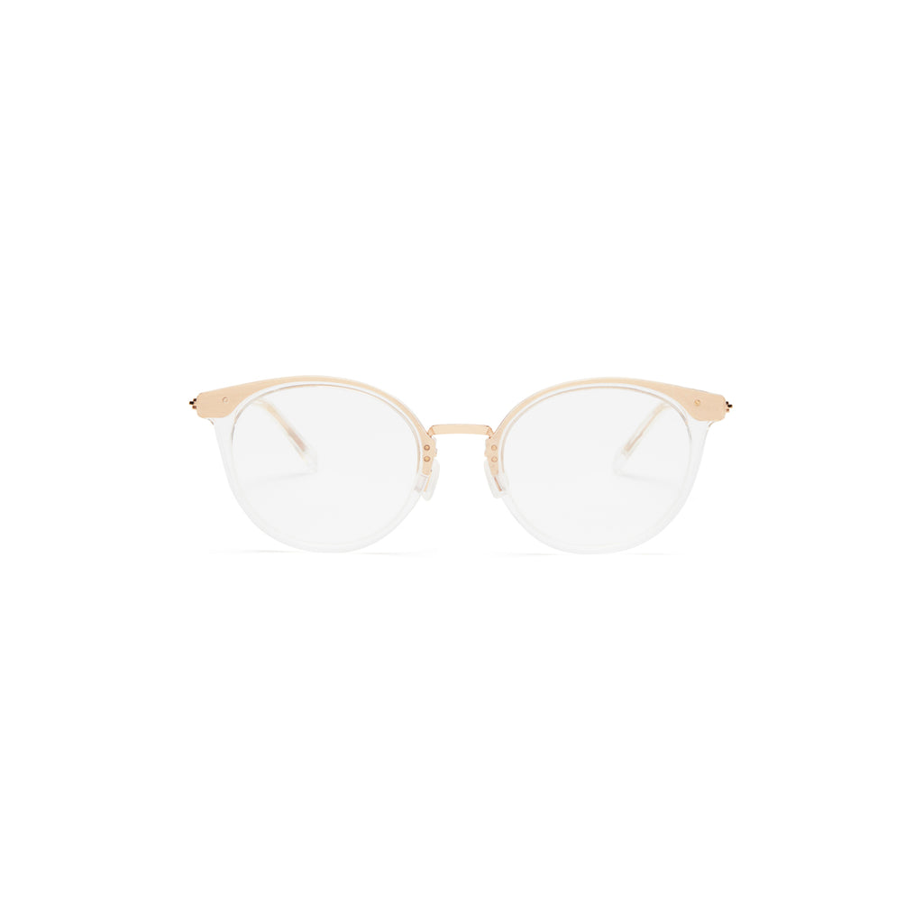 Covry Naos Champagne Blue Light Blocking Glasses Found on WOMANBOSS