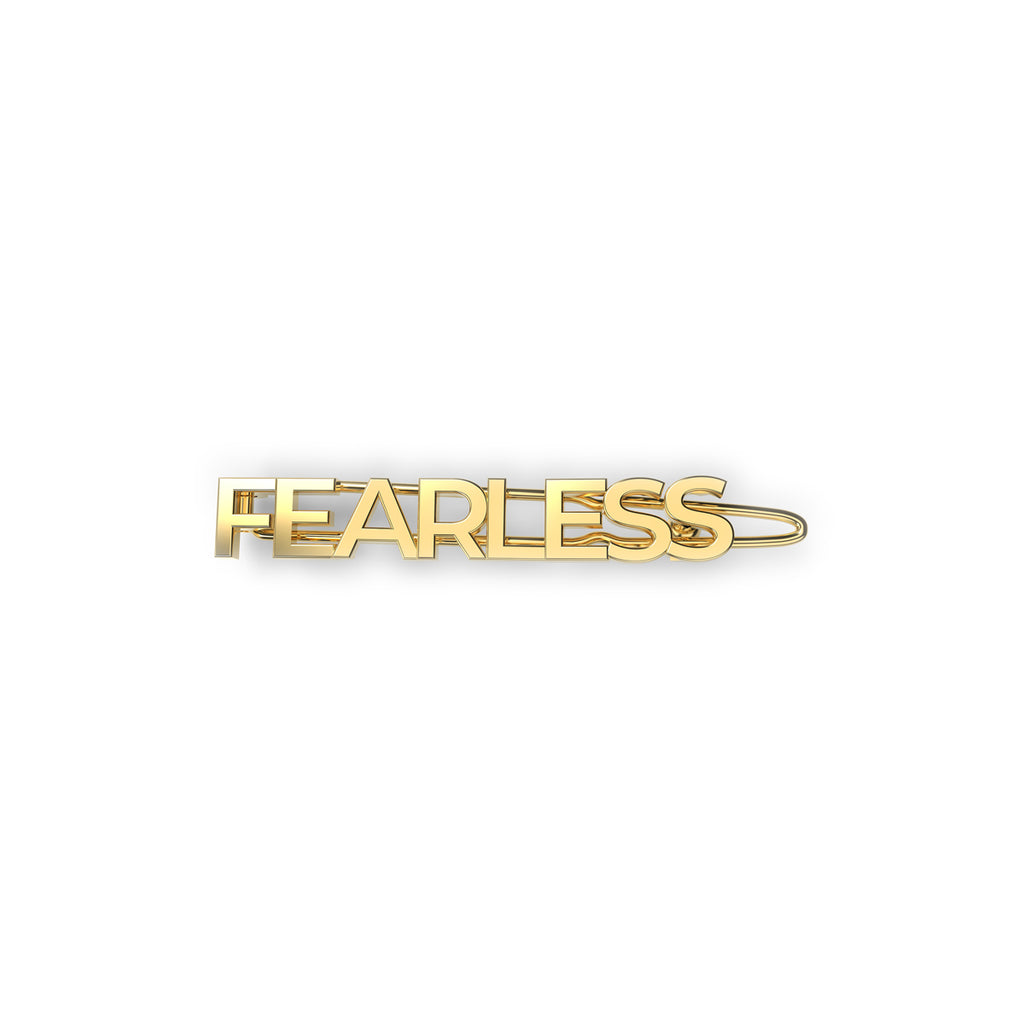 EACH Exclusive WOMANBOSS Collab Barrette in FEARLESS Only On WOMANBOSS