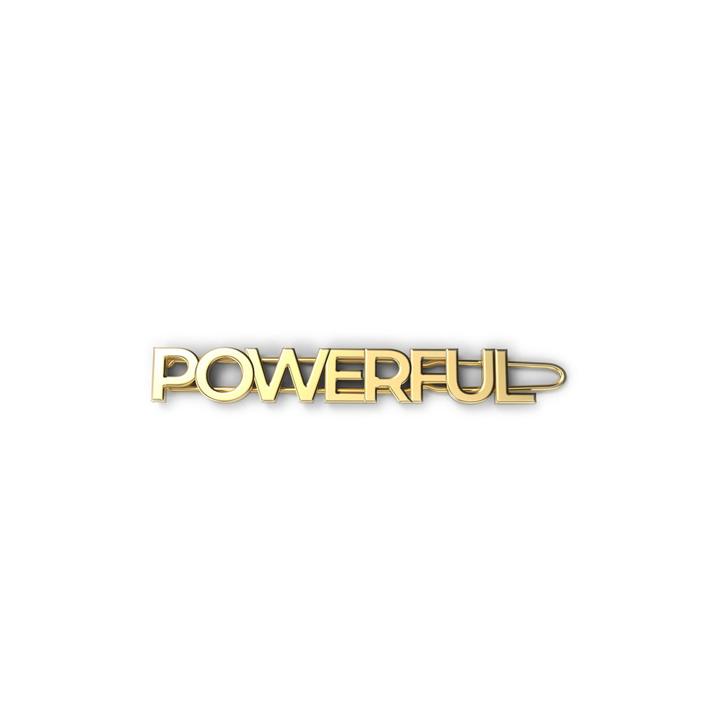 EACH Exclusive WOMANBOSS Collab Barrette in POWERFUL Only On WOMANBOSS