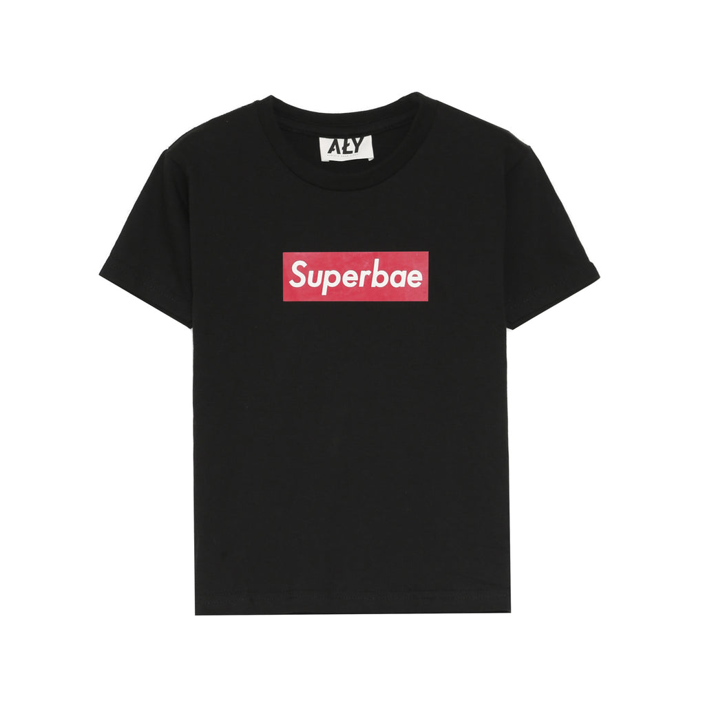 [KIDS] Superbae Tee in Black