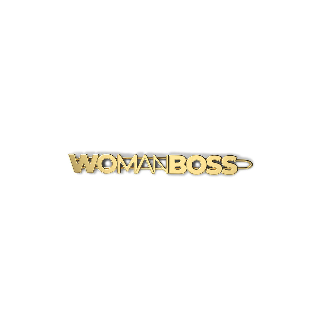 EACH Exclusive WOMANBOSS Collab Barrette in WOMANBOSS Only On WOMANBOSS