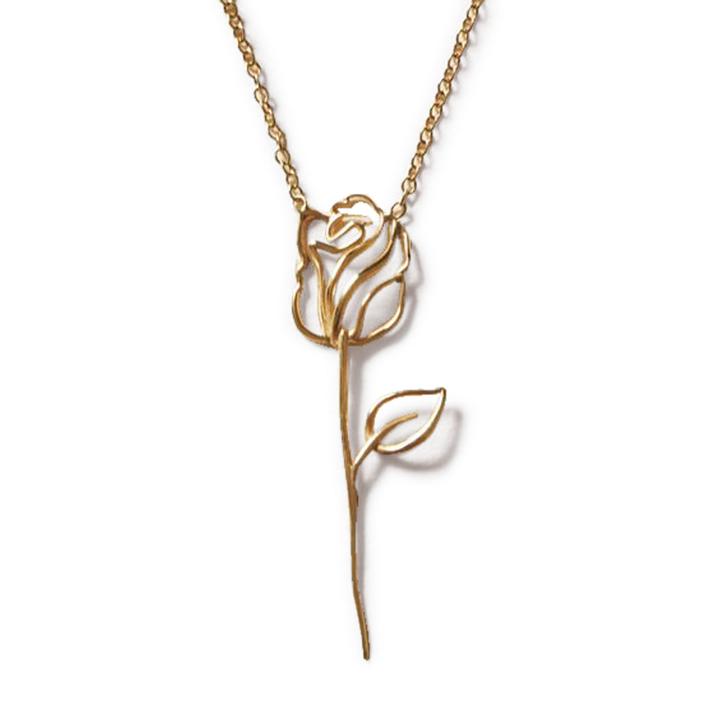 EACH Rosalie Necklace in Gold Featured on WOMANBOSS