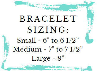 bracelet sizing information