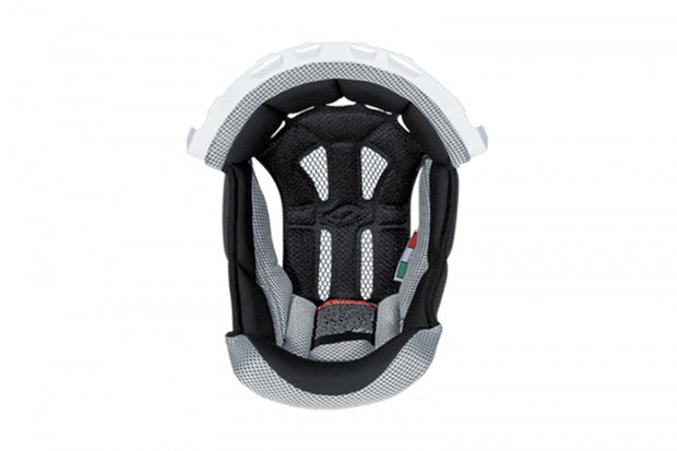 CUFFIA CASCO MOTOCROSS INTERCEPTOR WARRIOR BIANCO