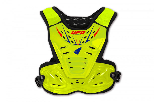 PETTORINA MOTOCROSS REACTOR 2 EVOLUTION GIALLO FLUO