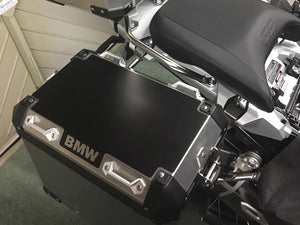 Armour Tech Protective film for current model BMW GS alu cases. <BR>Text: BMW