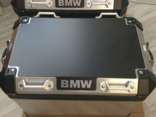 Load image into Gallery viewer, Armour Tech Protective film for current model BMW GS alu cases. <BR>Text: BMW