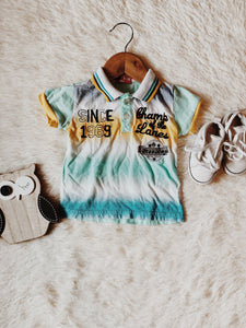 Yellow Polo Set - B.BabyCo