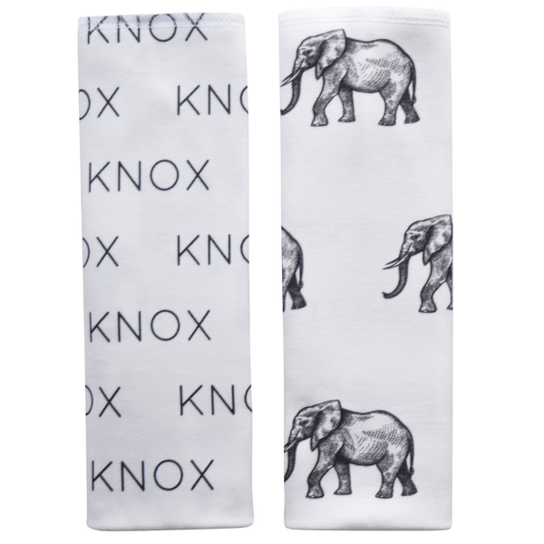 Personalized Blanket and Burp Cloth Elephant Collection - B.BabyCo