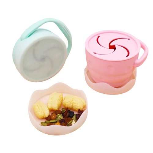Collapsible Silicone Snack Cup