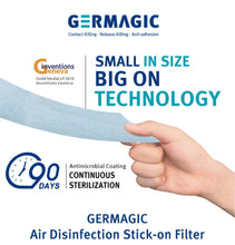 Load image into Gallery viewer, Antimicrobial Air Disinfection Stick-On Filter (90 Day Protection)
