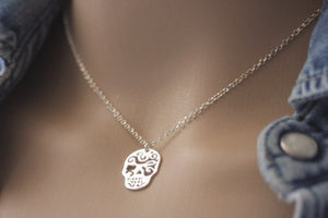 collier argent mexicain